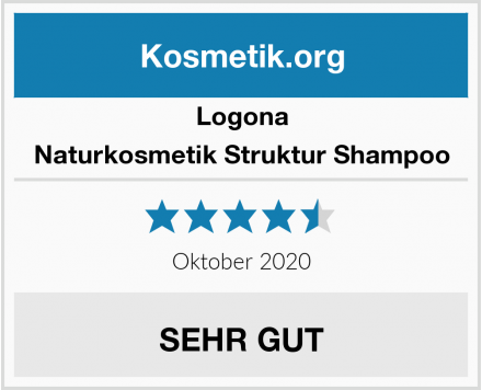 LOGONA Naturkosmetik Struktur Shampoo Test