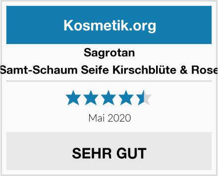 Sagrotan Samt-Schaum Seife Kirschblüte & Rose Test