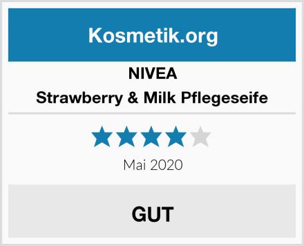 NIVEA Strawberry & Milk Pflegeseife Test