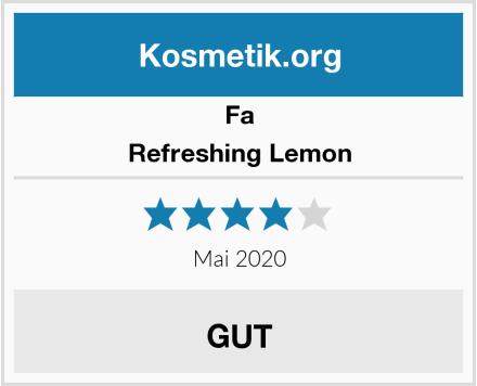 Fa Refreshing Lemon Test