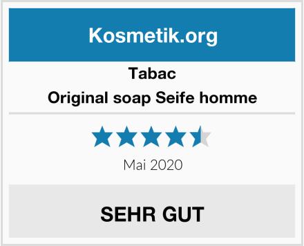 Tabac Original soap Seife homme Test