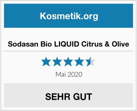 Sodasan Bio LIQUID Citrus & Olive Test