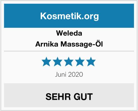 Weleda Arnika Massage-Öl Test