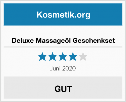 Deluxe Massageöl Geschenkset Test