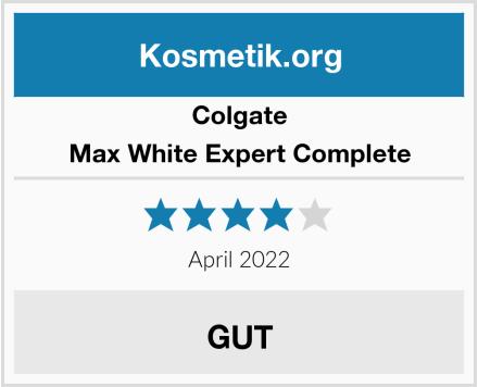 Colgate Max White Expert Complete Test