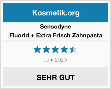 Sensodyne Fluorid + Extra Frisch Zahnpasta Test