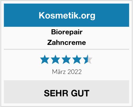 Biorepair Zahncreme Test