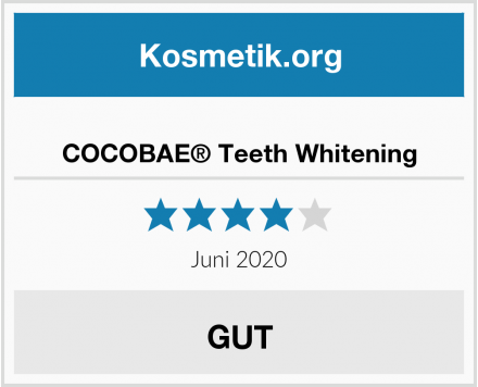 COCOBAE® Teeth Whitening Test