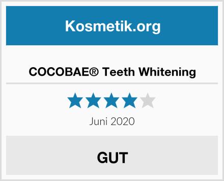 COCOBAE® Teeth Whitening Test
