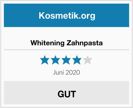 Whitening Zahnpasta Test