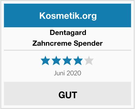 Dentagard Zahncreme Spender Test