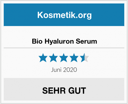 Bio Hyaluron Serum Test