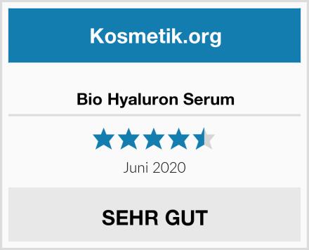 Bio Hyaluron Serum Test