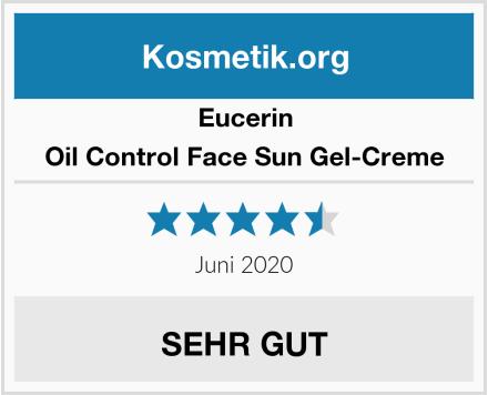 Eucerin Oil Control Face Sun Gel-Creme Test