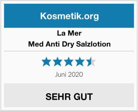 La Mer Med Anti Dry Salzlotion Test