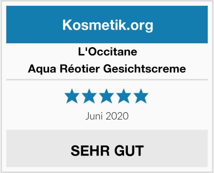L'Occitane Aqua Réotier Gesichtscreme Test