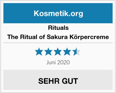 RITUALS The Ritual of Sakura Körpercreme Test