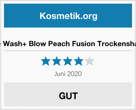 Aussie Wash+ Blow Peach Fusion Trockenshampoo Test