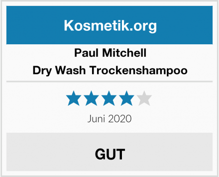 Paul Mitchell Dry Wash Trockenshampoo Test