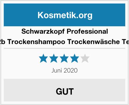 Schwarzkopf Professional got2b Trockenshampoo Trockenwäsche Textur Test