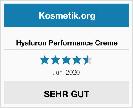 Hyaluron Performance Creme Test