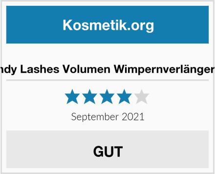 Wendy Lashes Volumen Wimpernverlängerung Test