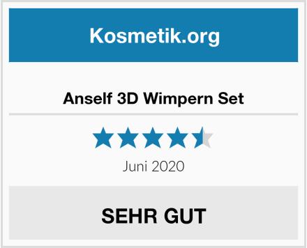 Anself 3D Wimpern Set Test