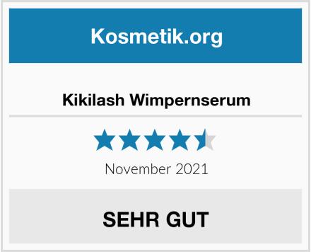 Kikilash Wimpernserum Test