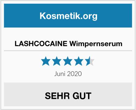 LASHCOCAINE Wimpernserum Test