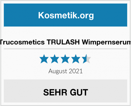 Trucosmetics TRULASH Wimpernserum Test