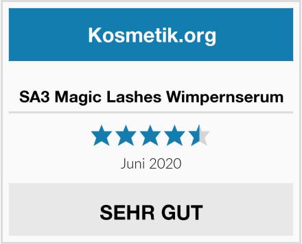 SA3 Magic Lashes Wimpernserum Test