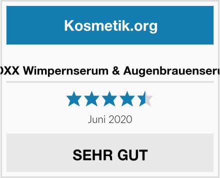 EOXX Wimpernserum & Augenbrauenserum Test