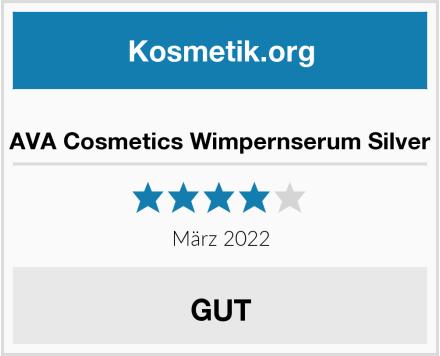 AVA Cosmetics Wimpernserum Silver Test