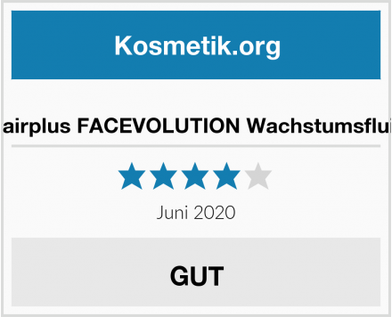 Hairplus FACEVOLUTION Wachstumsfluid Test
