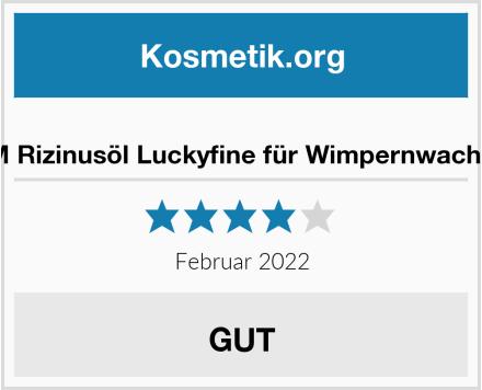 Y.F.M Rizinusöl Luckyfine für Wimpernwachstum Test