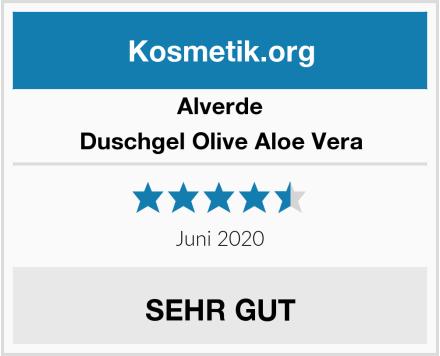 Alverde Duschgel Olive Aloe Vera Test