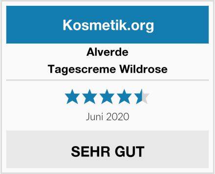 Alverde Tagescreme Wildrose Test