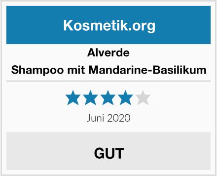 Alverde Shampoo mit Mandarine-Basilikum Test