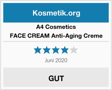 A4 Cosmetics FACE CREAM Anti-Aging Creme Test