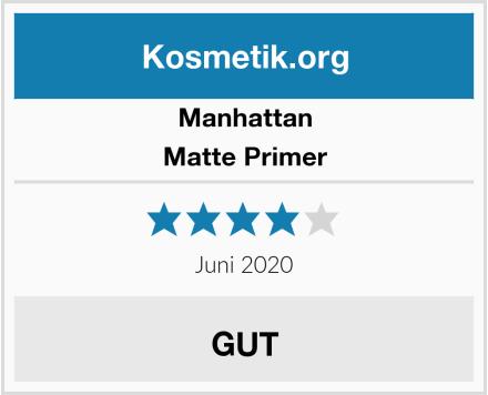 Manhattan Matte Primer Test