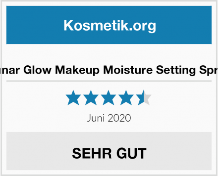 Lunar Glow Makeup Moisture Setting Spray Test