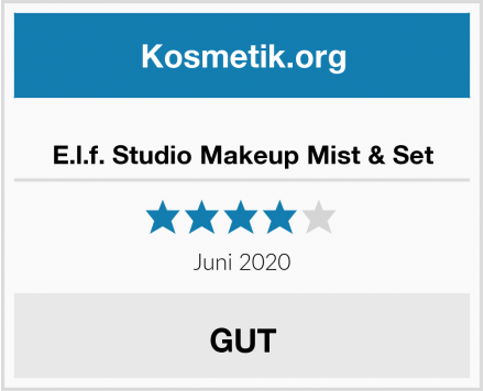 E.l.f. Studio Makeup Mist & Set Test