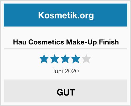 Hau Cosmetics Make-Up Finish Test