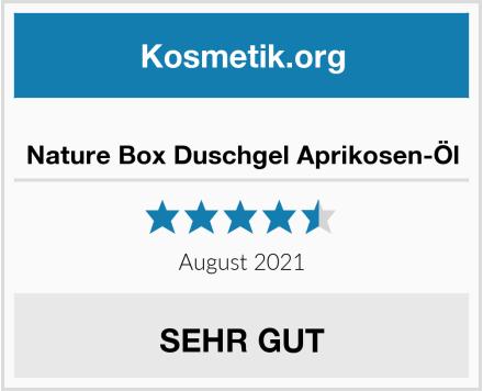 Nature Box Duschgel Aprikosen-Öl Test