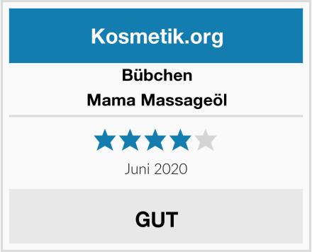 Bübchen Mama Massageöl Test