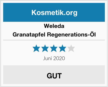 Weleda Granatapfel Regenerations-Öl Test