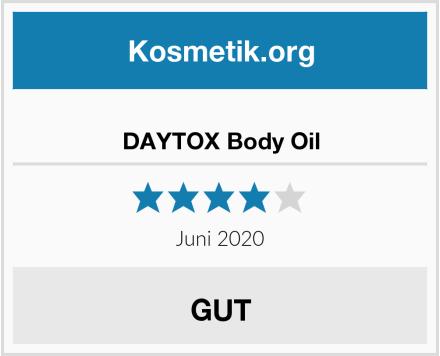 DAYTOX Body Oil Test