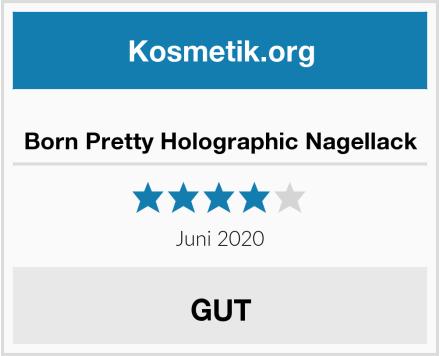 Born Pretty Holographic Nagellack Test