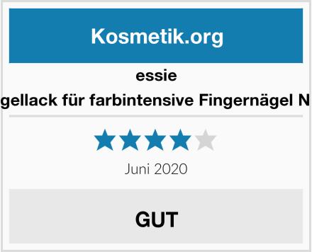 essie Nagellack für farbintensive Fingernägel Nr. 6 Test