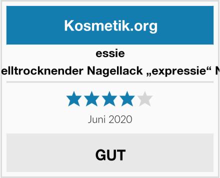 """essie Schnelltrocknender Nagellack """"expressie"""" Nr. 10 Test"""